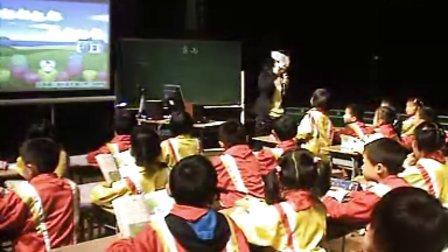 小学二年级语文优质课展示下册《雷雨》_祝老师.