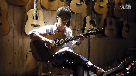 指弹吉他演奏家 GIN 长沙琴友会视频7 长沙沁音原声现场