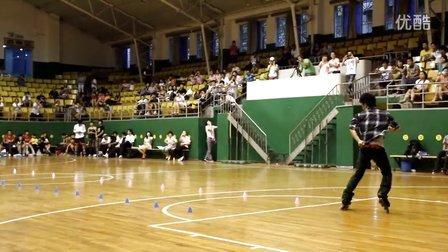 2012 WFSC 丽水轮滑世锦赛 成男花桩 KSJ 冠军