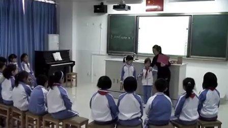 小学一年级音乐优质课视频《草原就是我的家》实录人教版苗老师