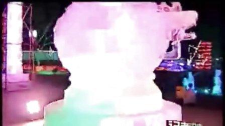 鞍山:2008冰灯展