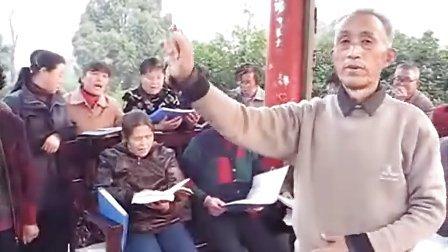 宝应八宝之声歌咏队集体演唱电影《柳堡的故事》主题曲《九九艳阳天》
