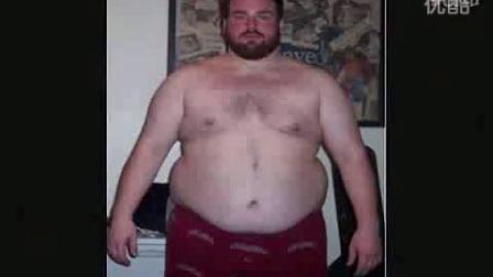 感人!国外胖子成功减肥!最终找回失去的爱情!