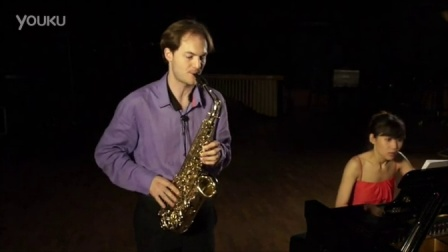 法国阿萨尔二重奏(钢琴萨克斯): 先锋派作曲家横井佑未子《第五幕》片段