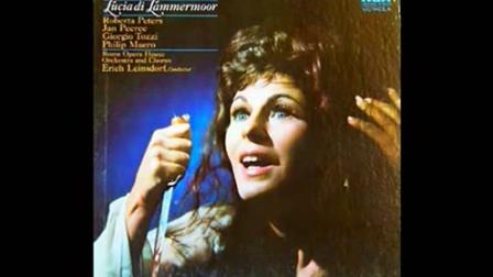 Roberta Peters 演唱露琪亚咏叹调 Il dolce suono那柔和的声音 香烛燃起