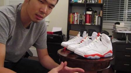 阳仔球鞋视频28, Air Jordan 6 的鞋带绑法