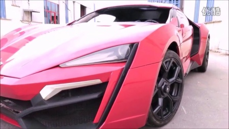 [W Motors][Lykan Hypersport]速度与激情7道具车展示