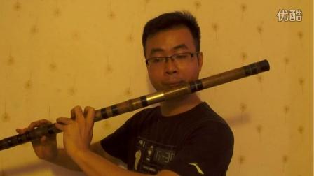 《白狐》大F调笛子独奏 很有韵味的曲子