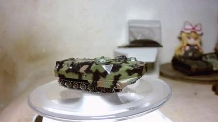 【模玩】小号手 1:144 LVTP-7A1 两栖突击载具 装甲车 模型评测