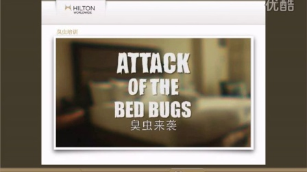 希尔顿全球臭虫培训 HWW Bed Bug Training