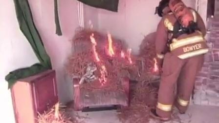科特高纳米水基环保超薄防火涂料-房屋控制燃烧测试