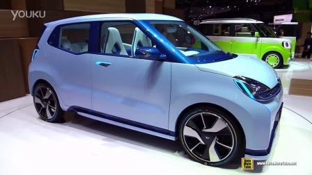 2015大发汽车D-base概念车东京车展首发实拍