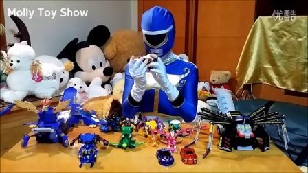 【魔力玩具秀】韩国魔幻车神限时组装 凤凰要塞 蜘蛛要塞自动爆裂变形玩具车机器人