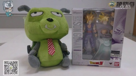 隔壁老王的玩具分享 万代 S.H.Figuarts 龙珠系列 超级赛亚人 少年孙悟饭