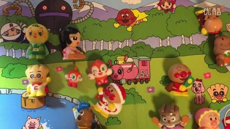 happy face 面包超人 2016 面包超人玩具介绍(七) 面包超人玩具介绍(七)