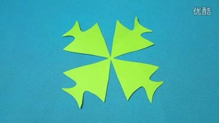 剪纸小课堂335:四条小鱼 儿童剪纸教程大全 亲子手工DIY教学 简单剪纸艺术