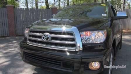 2015 Toyota Sequoia Platinum 4WD Start Up, Exhaust, and In Depth Revie...