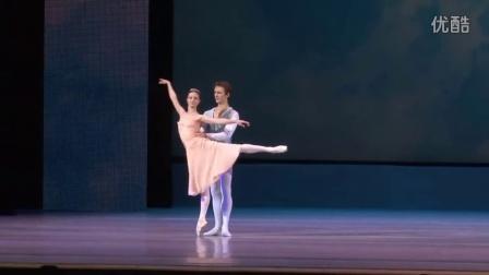 芭蕾舞 柴可夫斯基双人舞 Kaptsova和Chudin 莫斯科大剧院