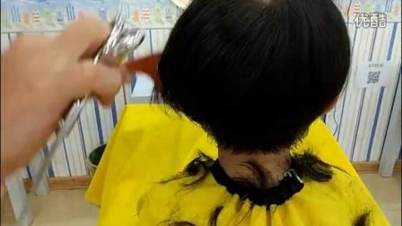 兒童理發培訓視頻第三集-蘑菇頭的修剪方法