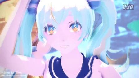 [MMDxMME] Dive to Blue [Tda Miku & Lenka] [ Camera DL]