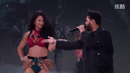 Starboy - The Weekend - VS Fashion Show 2016