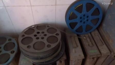 电影机 老电影胶片放映【英雄本色】