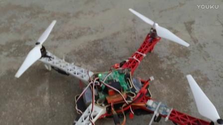 DIY无人机测试 大疆无人机 华为MATE手机录相测试