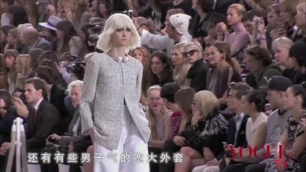 [VOGUE TV]Chanel 2014春夏秀场:摩登艺术