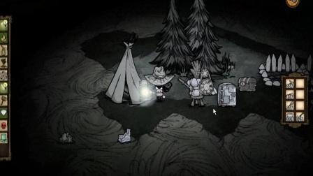 饥荒原版 洞穴极限生存 第二期 采蘑菇的小姑娘.mp4