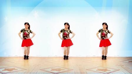 2017最新广场舞 48步水兵舞《又见山里红》 玫香广场舞正背面附口令教学