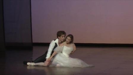 茶花女 白色双人舞 Gudrun Bojesen&Ulrik Birkkjær 丹麦皇家芭蕾舞团2014