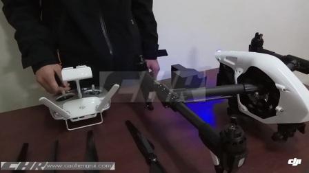 DJI大疆inspire悟v2.0航拍飞行器无人机体验