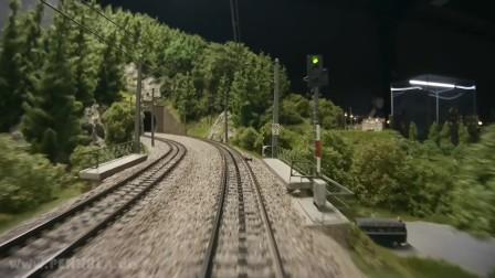 火车玩具 和 铁道模型 驾驶室视角