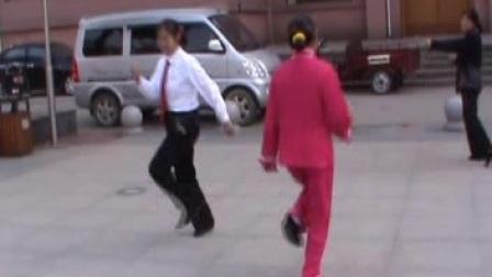 双人对跳 再见吧北京小姐 江西泰和刘金玉 童莲香表演