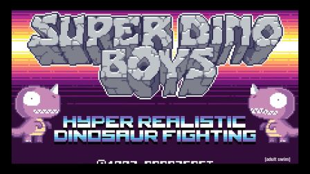 Super Dino Boys 1 to 4