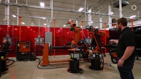 美国密歇根州 KUKA机器人焊接技术中心