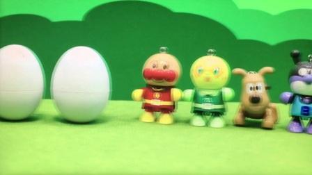 【happy face】【children】面包超人 面包和蛋蛋 玩具