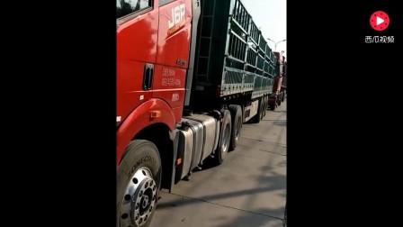 女司机开这辆车大货车,月薪80000