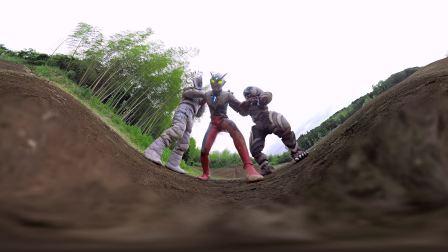 360度全景的死斗!『超级格斗VR』「亲子合作!为激斗的荒野献上花束」特别PV