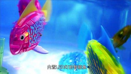 【赫宝海洋动物系列】赫宝鱼炫闪系列鲨口逃生套装