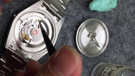 手表如何吹尘做防水