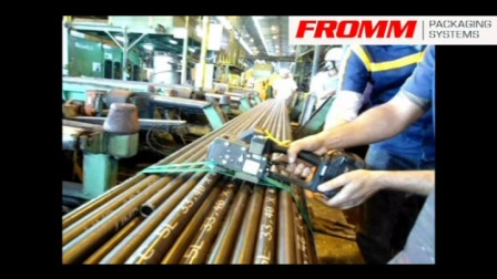 Fromm PET strapping tube part III FROMM