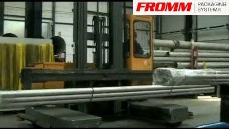 水平式裹膜机专用缠绕膜 工业用伸缩膜 包装材料 薄膜缠绕机【FROMM 孚兰】