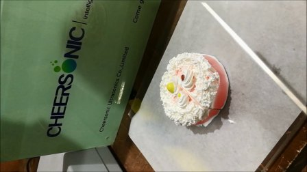 生日蛋糕奶油蛋糕切割 - 驰飞新款手持超声波切割刀