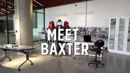 很高兴认识你 | 弗林德斯大学机器人代表 - 巴克斯特