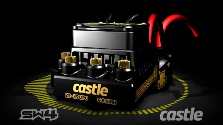 Castle Creations Sidewinder 4 BL 电调