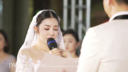2017.12.03 JWFilm四季婚礼著名歌唱家喻越越婚礼