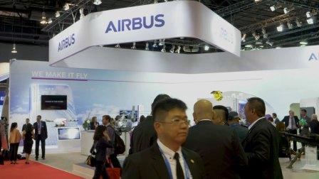 2018新加坡航展空客精彩回顾