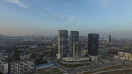 【未裁剪的原片】襄阳襄州区 浩然广场航拍,第一次拍勿喷