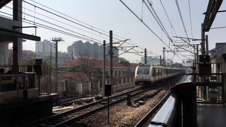 比利《上海地铁1号线》120 AC-06胖头鱼143号车莘庄上行进站